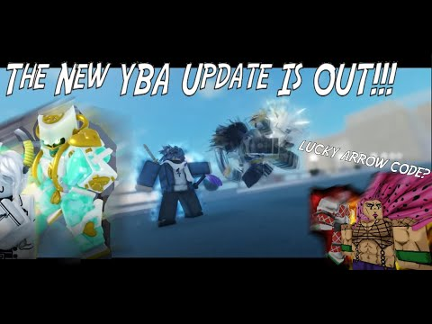 The New YBA Update Is OUT!!! [YBA Update v0.88]