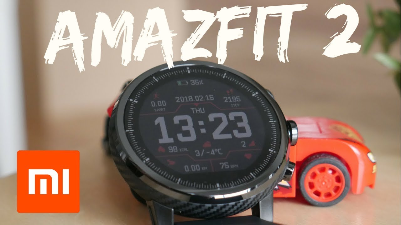 Huami Amazfit 2 Stratos in ENGLISH [2018]