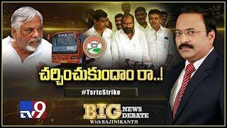 Big News Big Debate : Telangana RTC Strike - Rajinikanth TV9