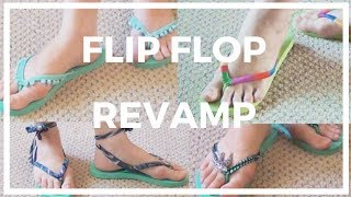 Flip Flop Revamp ♥ 4 Ways to Recycle and Restyle Your Flip Flops!