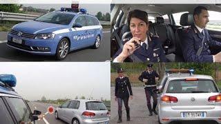 Polizia Stradale in azione: sorpasso e superamento a destra.  Moto.it
