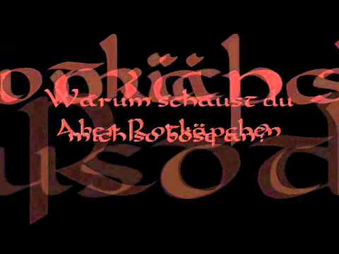 VARG - Rotkäpchen (Lyrics Video)