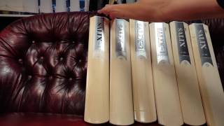 Video Tour of our new range of Salix Cricket Bats