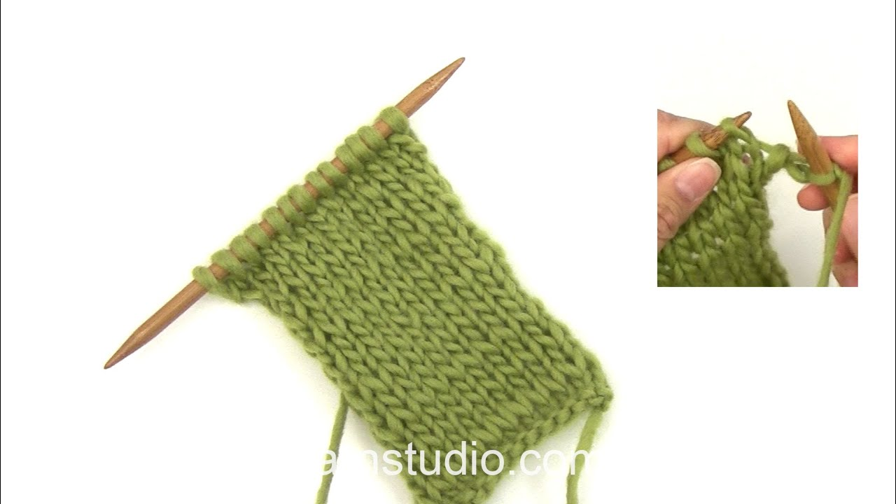 How To Knit Portuguese Knitting Youtube