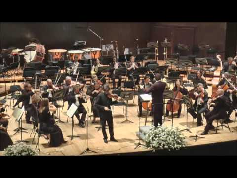 "Mozart: Violin Concerto No. 5, ""Turkish"", Jerusalem Symphony, Frédéric Chaslin, Asi Matathias"