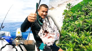 Exploring Uninhabited Tropical Islands In A Small Boat (Sharks & BIG Tuna) - Ep 277