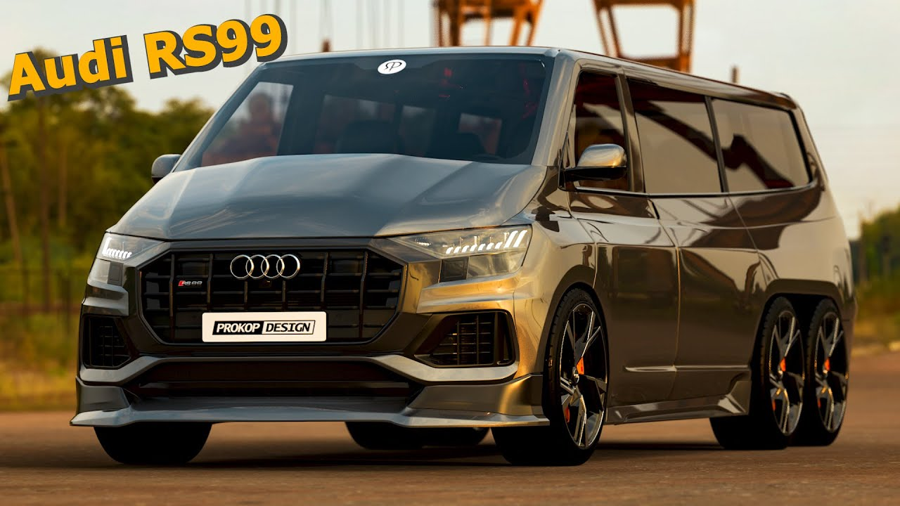 (VIDEO) - 2022 Audi RS99 Transporter with 550HP - (VIDEO)