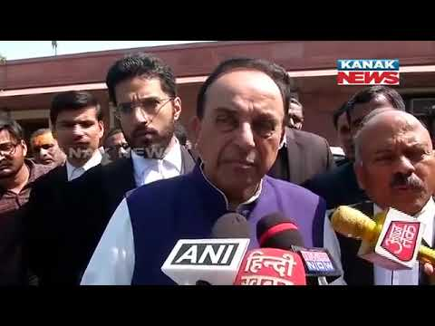 Supreme Court Suggests Mediation To Resolve Ram Temple Issue: Reaction Of Subramanian Swamy