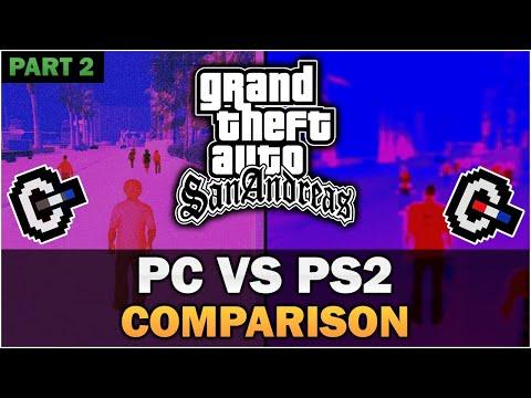 GTA San Andreas - PS2 VS PC [Part 2] [In-depth Comparison]
