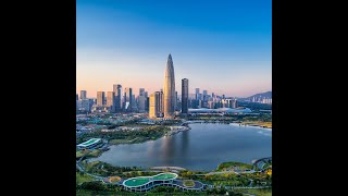 How does Shenzhen play an important role in building the Greater Bay Area?