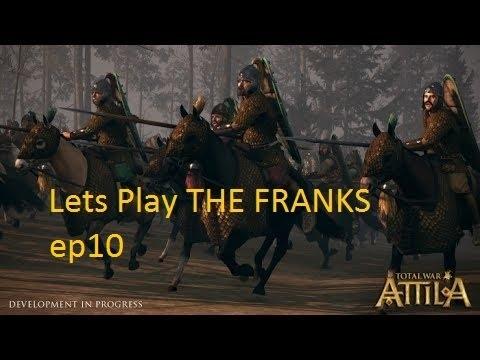 "Total War Attila Lets Play Franks ep10 ""The Geats strike back!"""