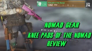 The Division Knee Pads Of The Nomad Review