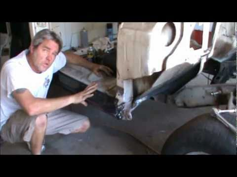 how to do rust repair part 3, 1967 to 1972 rocker panel