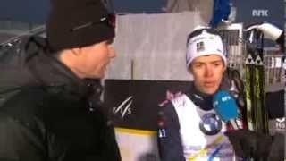 Thomas Alsgaard och Marcus Hellner
