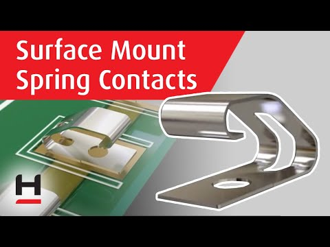 Youtube video for SMT Spring Contacts
