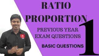 Ratio and Proportion #1 (Bank/SSC/Railway.. Exam)
