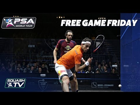 RIDICULOUS QUALITY SQUASH GAME - ElShorbagy v Ashour - Free Game Friday
