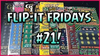 $440 SESSION!! FLIP-IT FRIDAYS #21! - Florida Lottery Scratchers