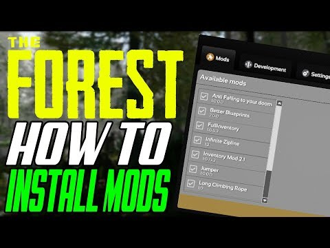 The Forest How To Install Mods & Ultimate Cheat Menu (ModAPI Tutorial)