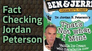 Fact checking Jordan Peterson