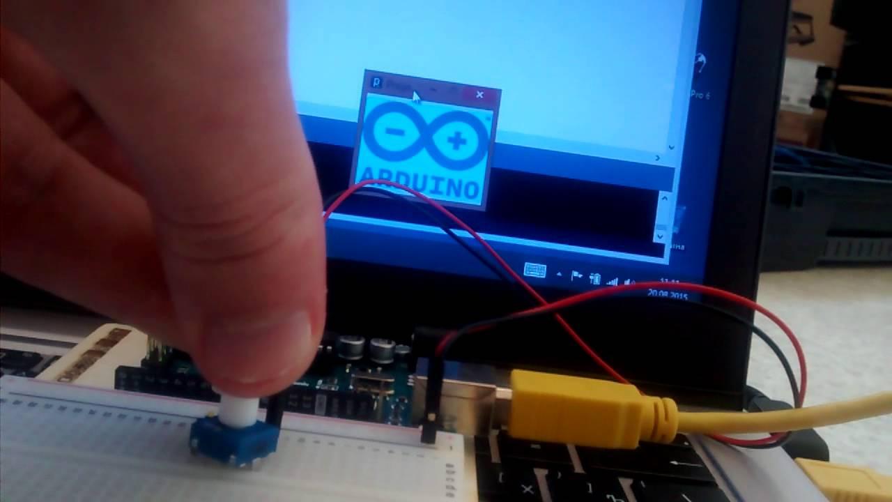 Arduino project tweak the logo youtube