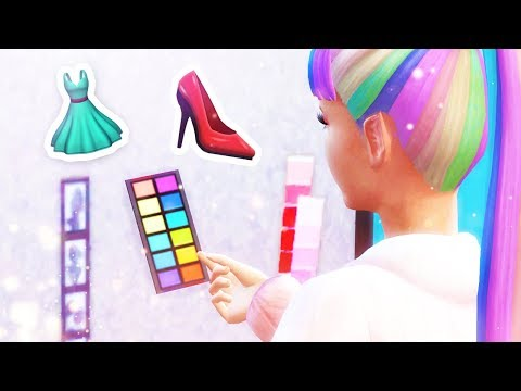 LET'S MAKE SOME OUTFITS! 👗👠 // The Sims 4: Get Famous #2