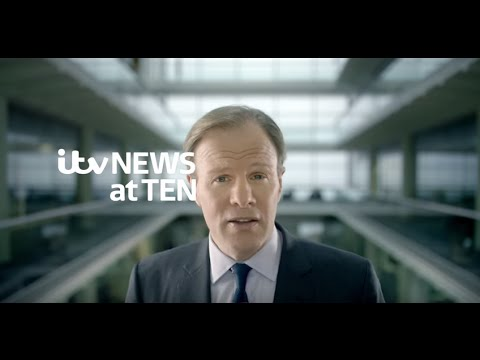News at Ten with Tom Bradby | ITV