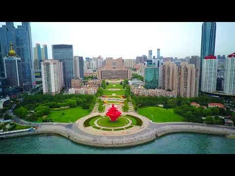 用mavic pro航拍青岛市  Aerial Qingdao with mavic pro