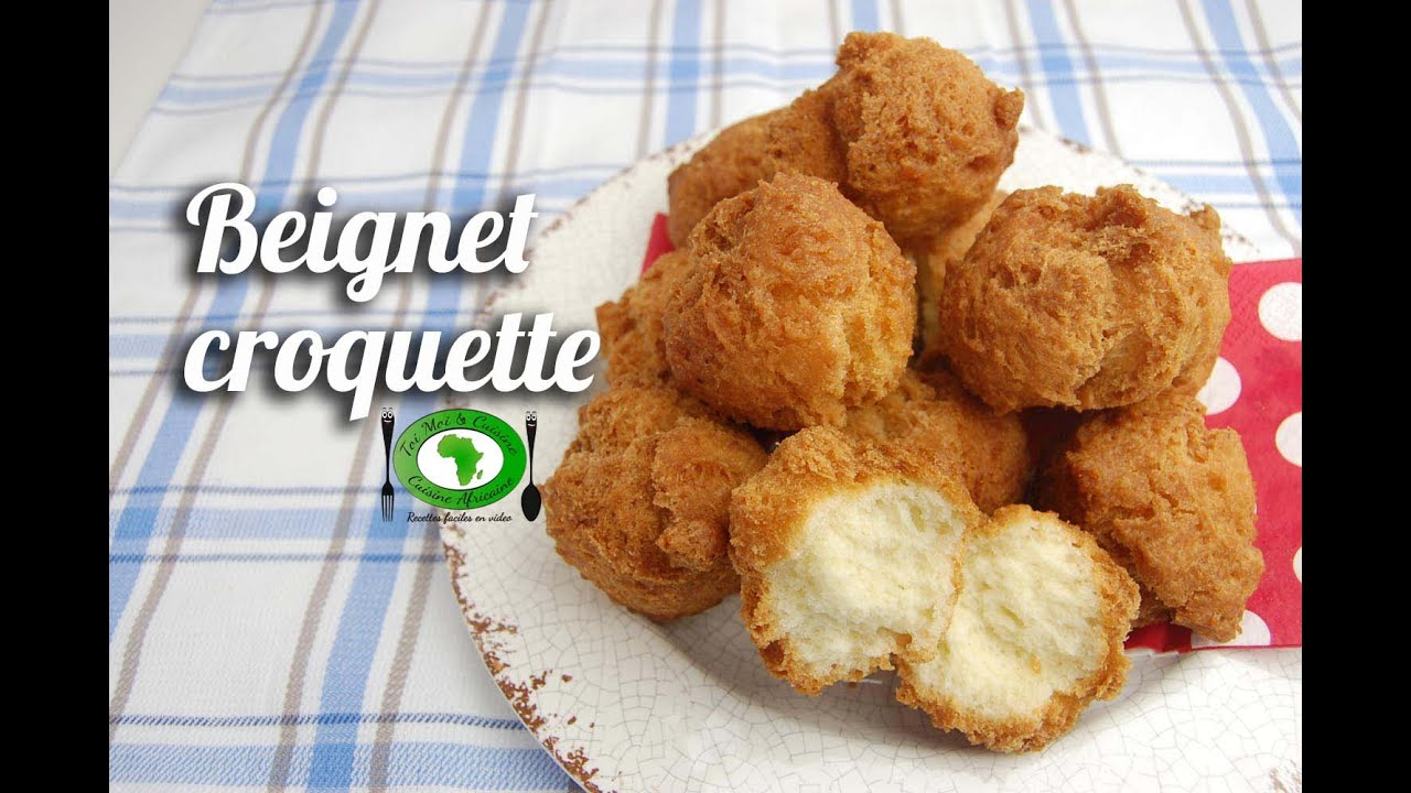 recette beignet croquette youtube. Black Bedroom Furniture Sets. Home Design Ideas