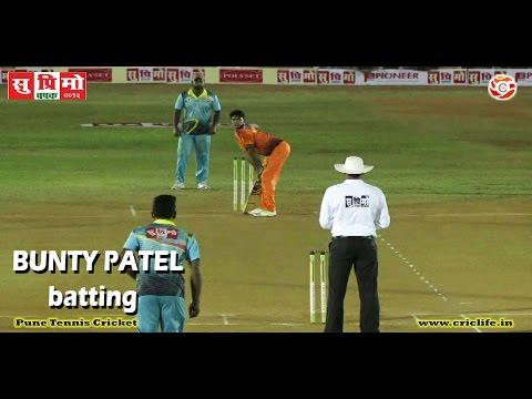 Bunty Patel batting in Suprimo Premier League 2016