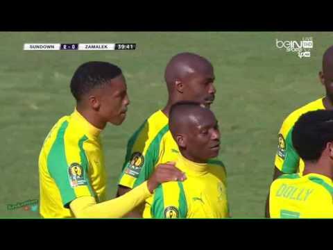 ★ MAMELODI SUNDOWNS 3 0 ZAMALEK ★ 2016 CAF Champions League   All Goals ★1