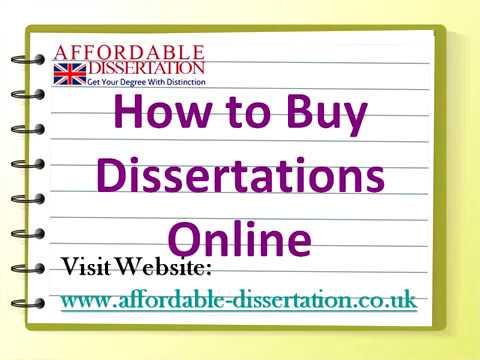buy dissertations
