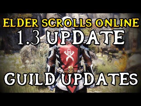 Elder Scrolls Online - Update 1.3: Guild Heraldry & Updates (1080p)