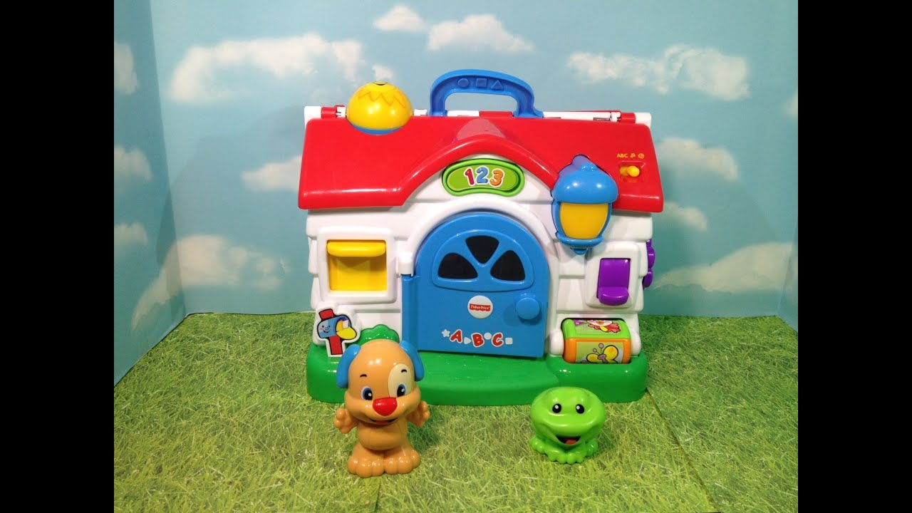 Fisher Price Laugh And Learn Puppy Home Activity Playset Youtube