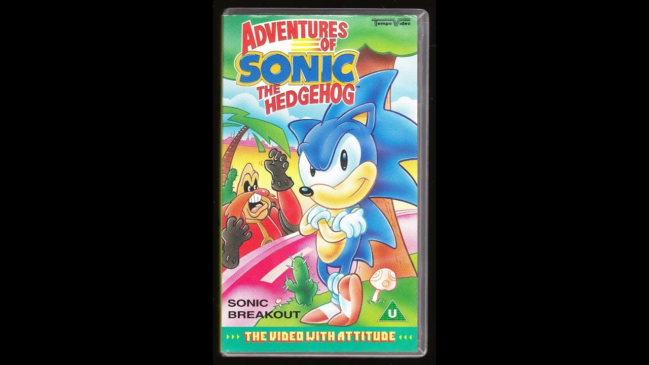 Original Vhs Opening Adventures Of Sonic The Hedgehog Sonic Breakout Uk Retail Tape Youtube