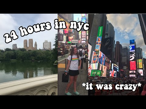 spend 24 hours w me in NYC! (first time trying kombucha and going to brandy melville)