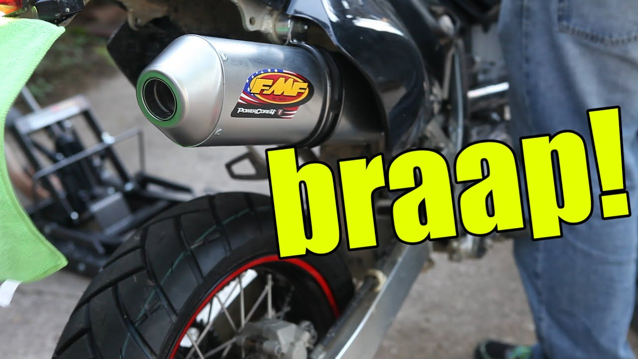 FMF PowerCore 4 Install For DRZ400