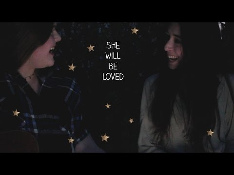 she will be loved (cover)