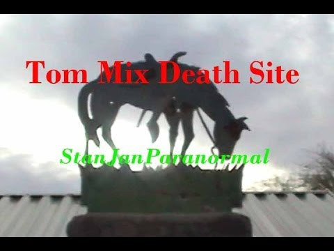 TOM MIX Arizona Death Site