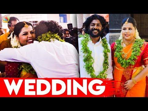 മണ്ഡോദരിക്കു താലി ചാർത്തി ലോലിതൻ | S P Sreekumar and Sneha tie the knot | Latest News