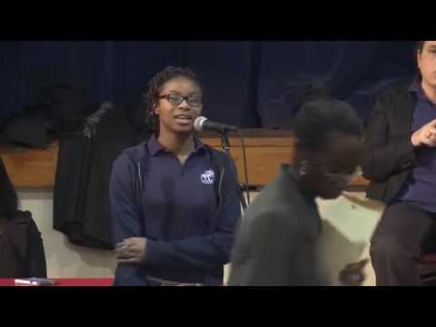 Kiela Sanders: Obama Presidential Library Public Hearings, Jan 14, 2015