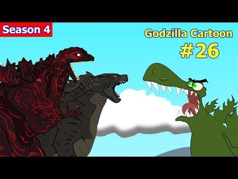 Godzilla Vs Shin Godzilla, King Kong #26 - 1 Hour Funny Cartoon Movie Animation 2018