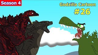 Godzilla vs Shin Godzilla, King Kong #26 - 1 Hour Funny Cartoon Movie Animation 2018