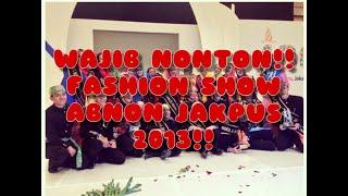 fashion show finalis abang none jakarta pusat 2013 (gaun malam by RAMLI)