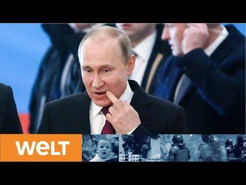 Demokratie in Russland: Wladimir Putin gibt sich bei Präsidentenwahl absolut siegessicher