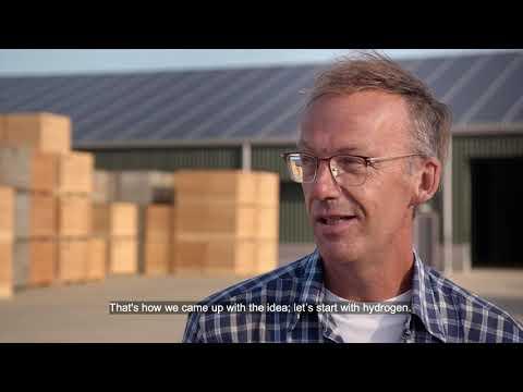 Agrarische bedrijven samen naar een duurzame toekomst met Waterstof.