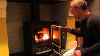 Lighting A Clearview Pioneer 400 Stove