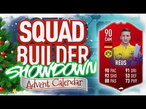 THE SQUAD BUILDER SHOWDOWN ADVENT CALENDAR!!! 90 POTM REUS!! Day 27