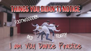 THINGS YOU DID(N'T) NOTICE in I am YOU Dance Practice / Stray Kids