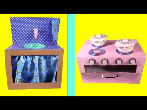 5 BRILLIANT DIYs YOU CAN MAKE KITCHEN SINK & OVEN FROM CARDBOARD